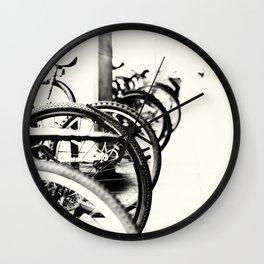 Passing Cycles Wall Clock