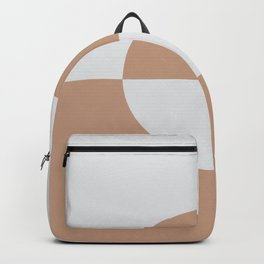 Sand Storm Beige Pale Gray Circle Design 2 Behr 2021 Color of the Year Canyon Dusk Dutch White Backpack