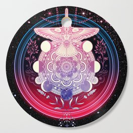 Hummingbird Mandala Cutting Board