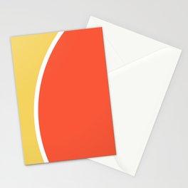 Geometric shape pattern nr 2006379 Stationery Cards
