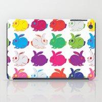 rabbit iPad Cases featuring Rabbit by sudarshana