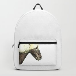 Horse Profile Backpack