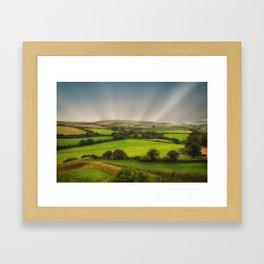 English Countryside Framed Art Print