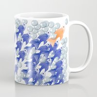 the 100 Mugs featuring 100 fishes by Michelle Behar
