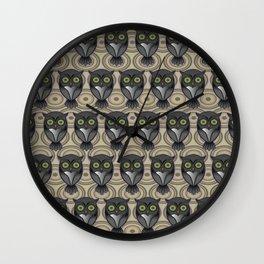 Owling Pt3 Wall Clock