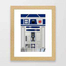 R2D2 Robot Framed Art Print