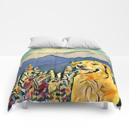 Mountain Dog 2 Comforters