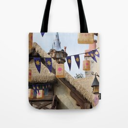 Tangled Tower Tote Bag