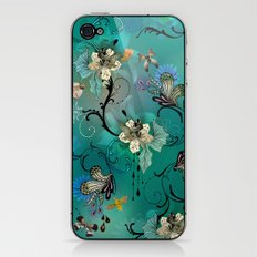 The Butterflies & The Bees  iPhone & iPod Skin