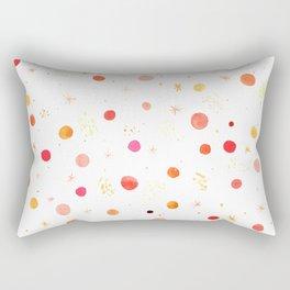 Happy Dots Rectangular Pillow
