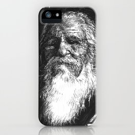Bearded Man iPhone Case