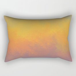 Violet Forest Ablaze Rectangular Pillow