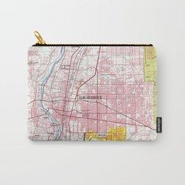 Albuquerque New Mexico Map (1978) Carry-All Pouch