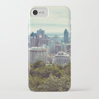 montreal iPhone & iPod Cases featuring Montreal by GF Fine Art Photography