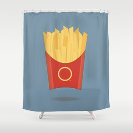 OOOH Some French Fries Shower Curtain