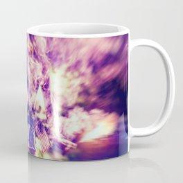 9366 Sexy Blonde Girl Fireworks Coffee Mug