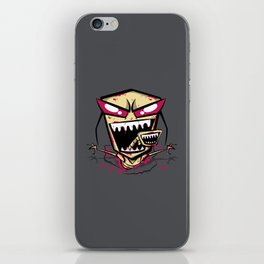 Chest burst of Doom iPhone Skin