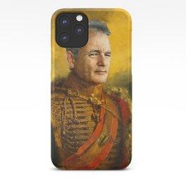 Bill Murray, Comedian, Classical Painting Portrait, Regal art, General, Actor iPhone Case