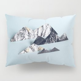 Paper mountains Pillow Sham