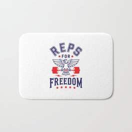 Reps For Freedom Bath Mat
