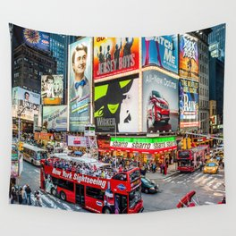 Times Square II Special Edition III Wall Tapestry