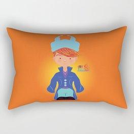 Le petit Mikel /Character & Art Toy design for fun Rectangular Pillow