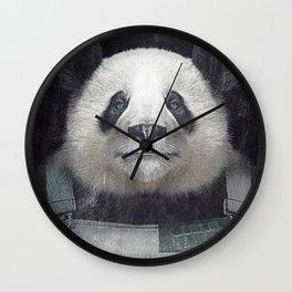Billy Bob Panda Wall Clock