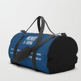 Mundo La Tribuna Duffle Bag