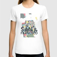 san francisco T-shirts featuring San Francisco. by Studio Tesouro