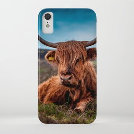 Scottish Highland longhorns Rancher iPhone Case