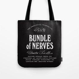 Bundle of Nerves Tote Bag