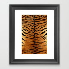 Haute Tiger Framed Art Print