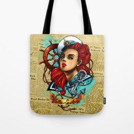 Hello Sailor Tote Bag