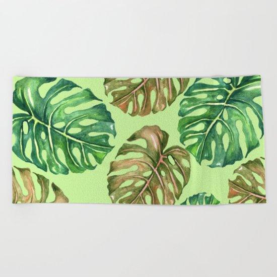 Tropical Summer #1 Beach Towel