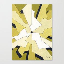 Mono Pattern | The Fragments Canvas Print