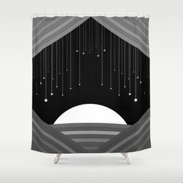 Curtain Fall Shower Curtain