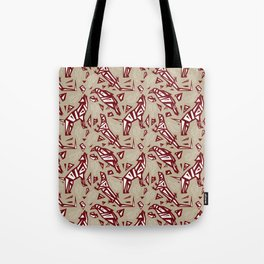 Spirit Animals Desert - Coyote - Raven - Lizard Tote Bag