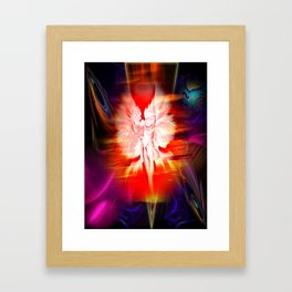 Heavenly apparition 5 Framed Art Print