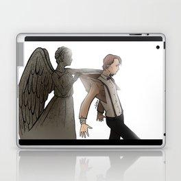 [ Doctor Who ] Eleven Matt Smith Weeping Angel Laptop & iPad Skin