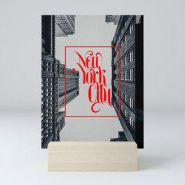 New York urban landscape photo Mini Art Print