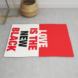 LOVE is the new black IV – Plain Rug