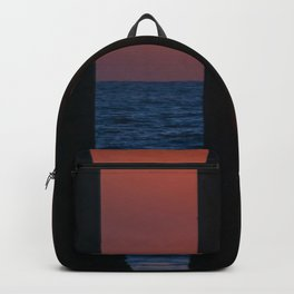 Sunset Through the Pier Backpack