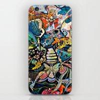 phoenix iPhone & iPod Skins featuring Phoenix by Dawn Patel Art