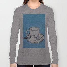 coffee and spoon Long Sleeve T-shirt
