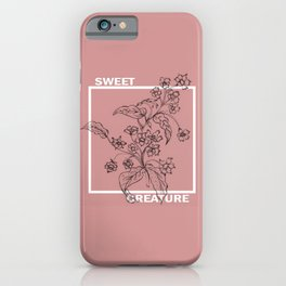 Sweet creature iPhone Case