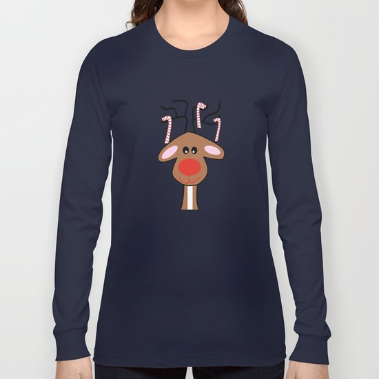 Christmas Reindeer Long Sleeve T-shirt
