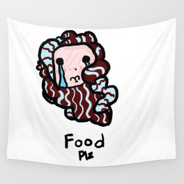 Food Plz Wall Tapestry