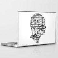 internet Laptop & iPad Skins featuring Hello Internet! by ElectricShotgun