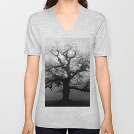 Naked Granddaddy Tree Unisex V-Neck