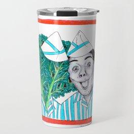 Kenan and Kale. Travel Mug